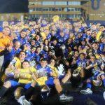 Los Auténticos Tigres celebran su campeonato de la Intermedia 2019, su séptimo al hilo en el circuito.